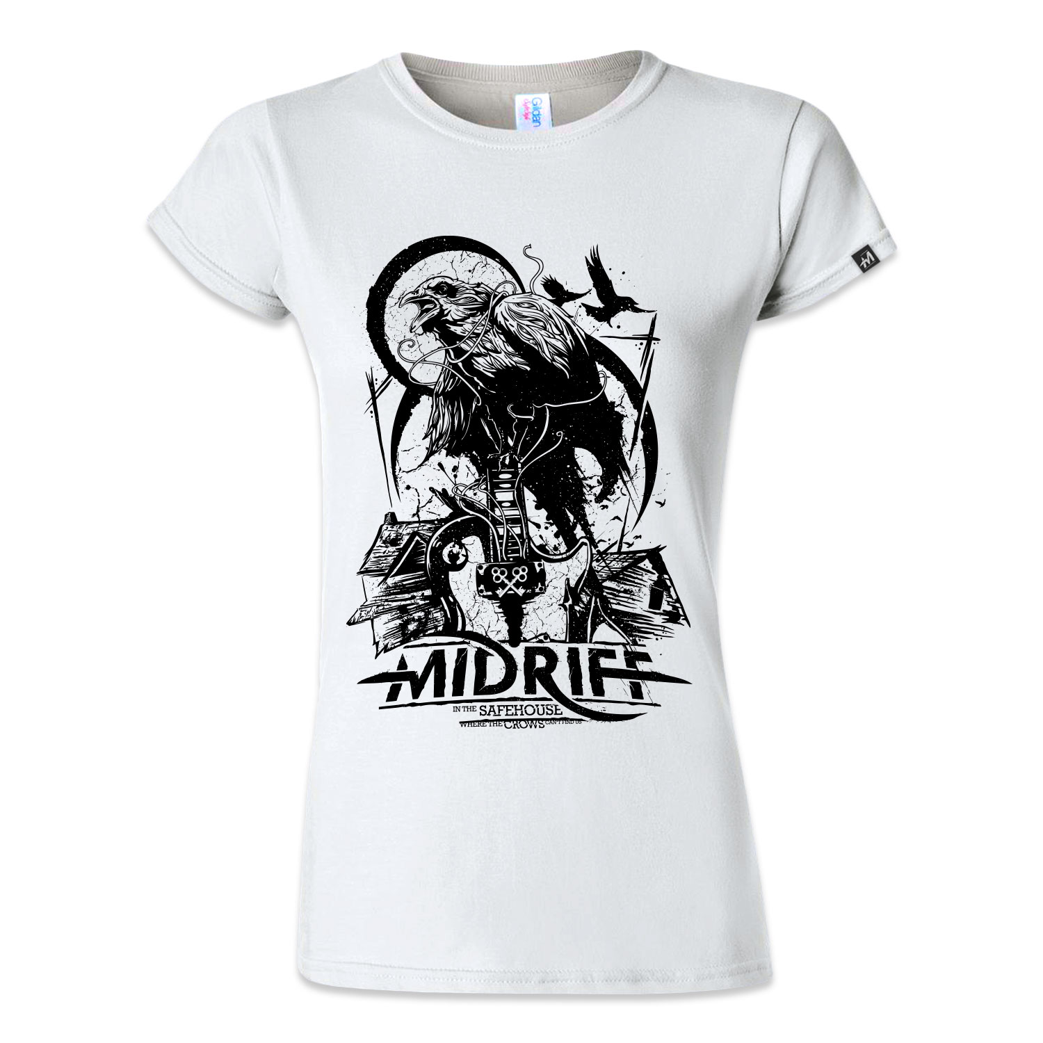"Ladies Shirt ""Safehouse"" - white"